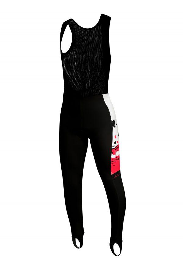 Culotte largo con tirantes, personalizado